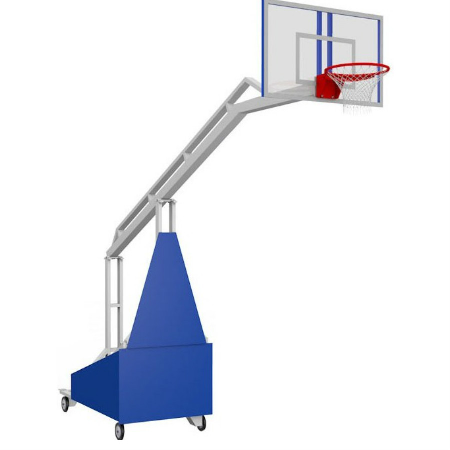 ffc3f6d2 Стойка баскетбольная мобильная складная Вынос 1,6 м.