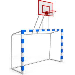 Баскетбольная стойка с воротами