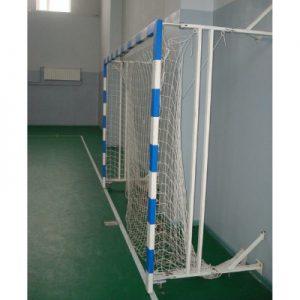 Ворота для мини футбола шарнирно-собирающиеся к стене